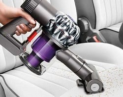 dyson dc58 is ideal for car cleaning