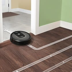 roomba 960 has smart navigation