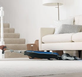 vacuum all areas of your home