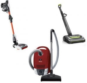 best lightweight vacuum cleaner uk