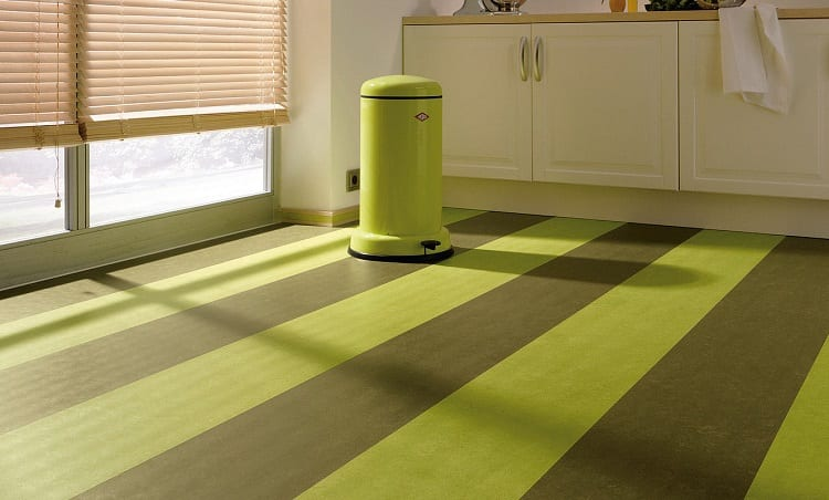 Green and Grey Flooring