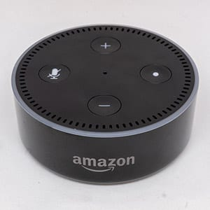amazon echo dot smart home device