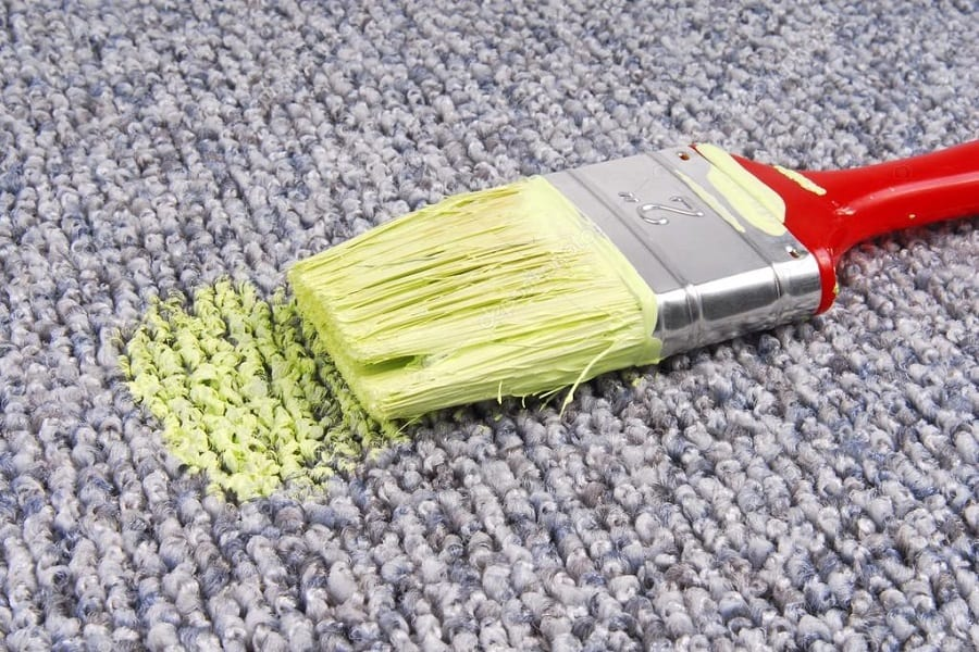 How to Get Emulsion Paint out of Carpet