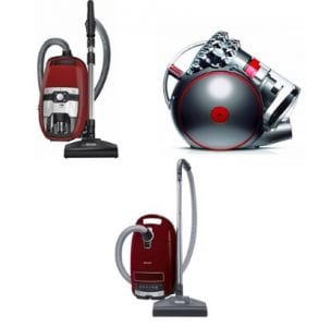 best cylinder vacuum cleaners