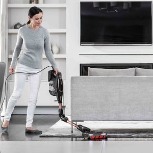 shark flexology tech is great for cleaning