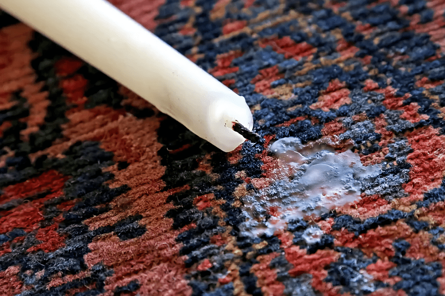 How To Get Melted Wax Off Carpet