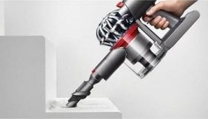 dyson v8 animal is great for stairs