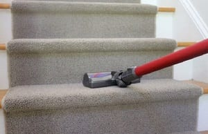 choosing a vacuum for cleaning stairs