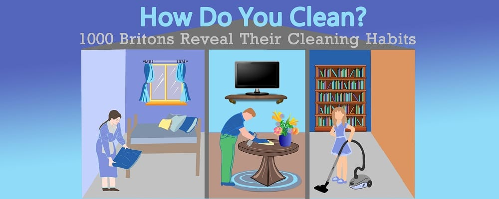 How Do You Clean? British Cleaning Habits Revealed