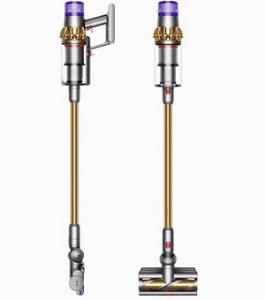 dyson v11 absolute has an inline design