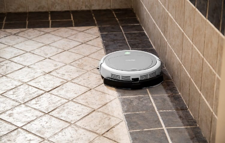 bathroom can cause the robot to jam
