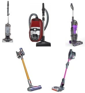 best bagless vacuum cleaner uk