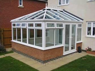 how to clean a conservatory roof