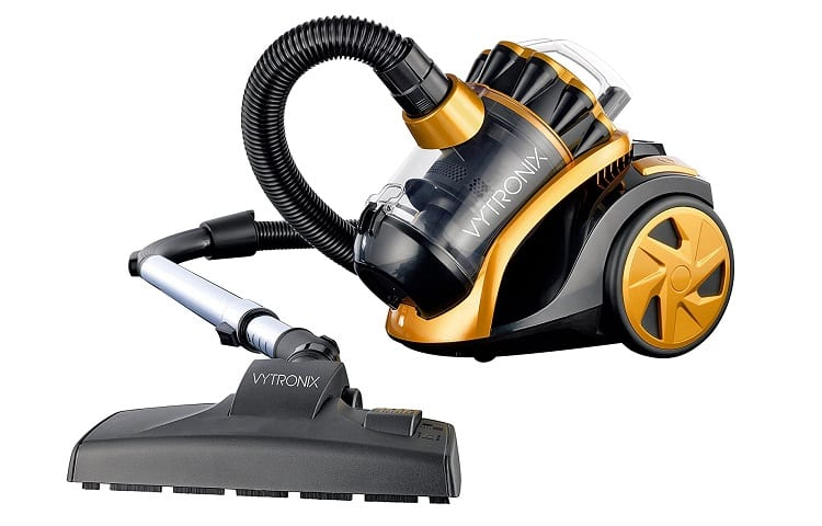 VYTRONIX VTBC01 Powerful Compact Cyclonic Bagless Cylinder Vacuum Cleaner Review