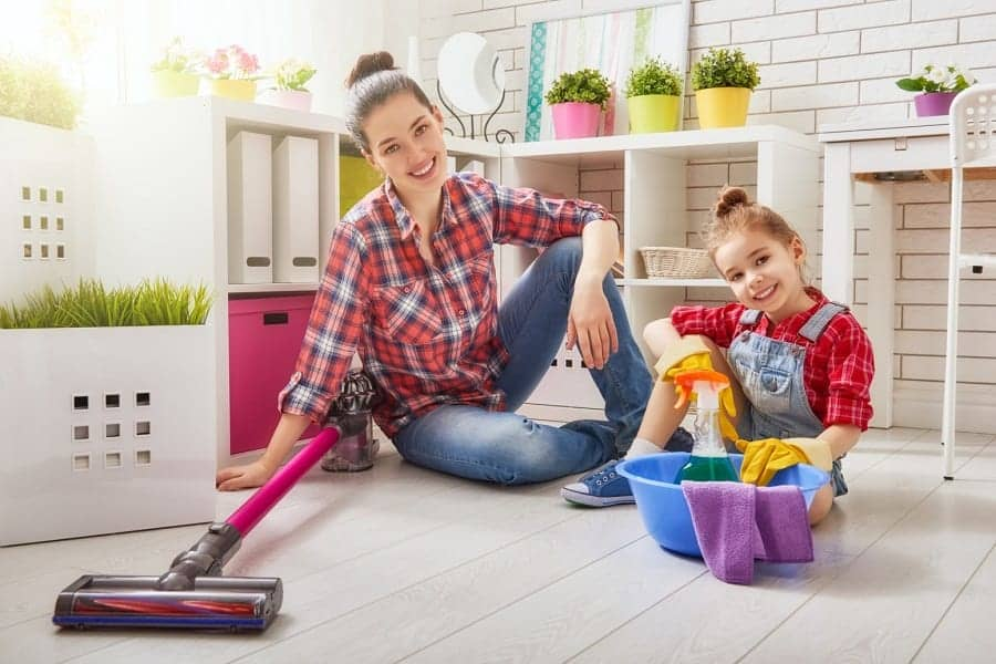 cleaning-the-house