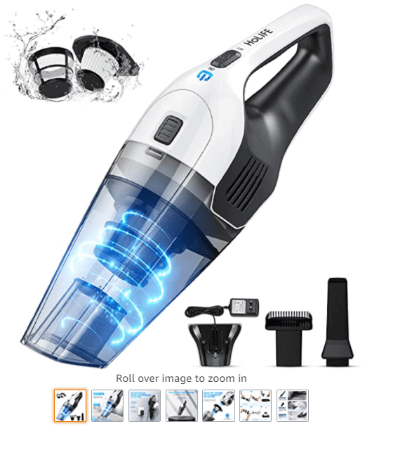 The 5 Best Car Vacuum Cleaners 5